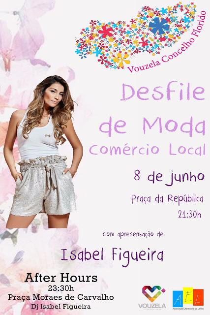 Vouzela recebe iniciativa no dia 8 de junho, Isabel Figueira apresenta desfile de moda do comércio local