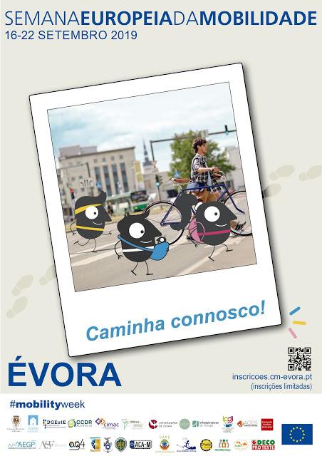 Évora | Semana Europeia da Mobilidade apela à Caminhada