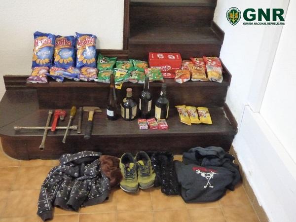 Justiça | Apanhados pela GNR por furtos em Aveiro e Vagos