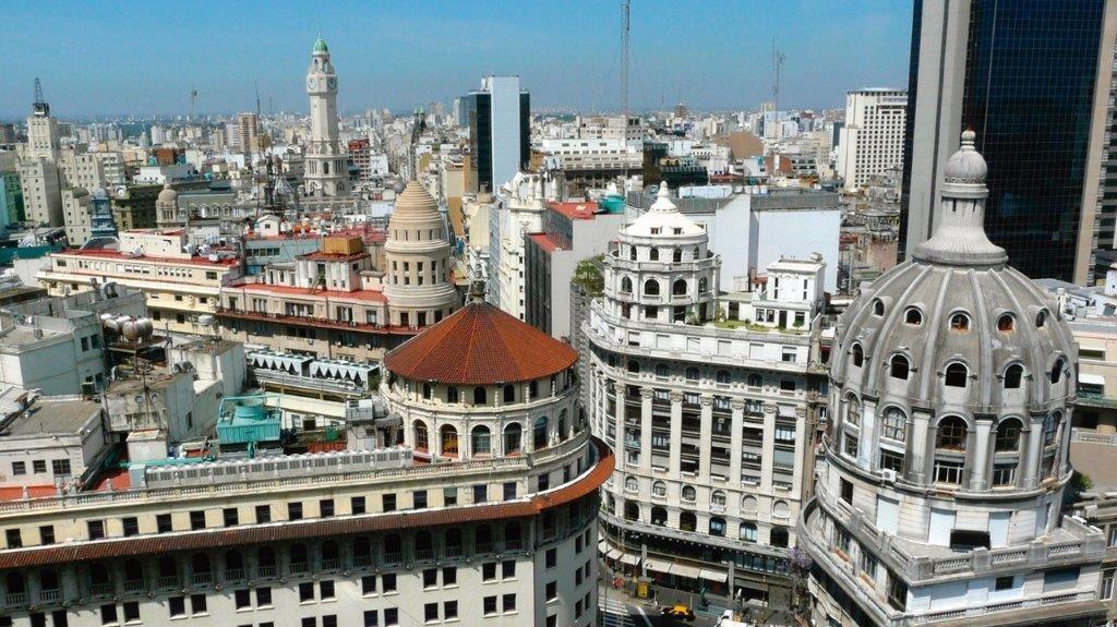 Mundo   Na Argentina, renovada atração por prédios com cúpulas