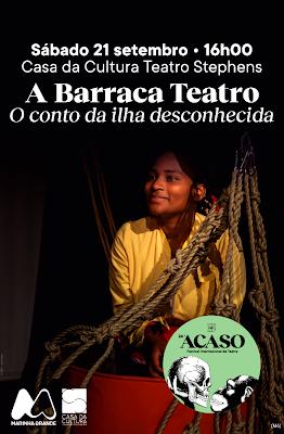 Marinha Grande | Casa da Cultura recebe Festival Acaso com peça infantil