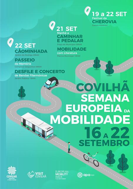 COVILHÃ ASSINALA SEMANA DA MOBILIDADE COM CAMINHADAS E ATIVIDADES AO AR LIVRE