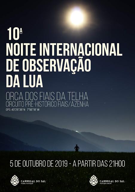 Carregal do Sal   10ª Noite Internacional de Observação da Lua
