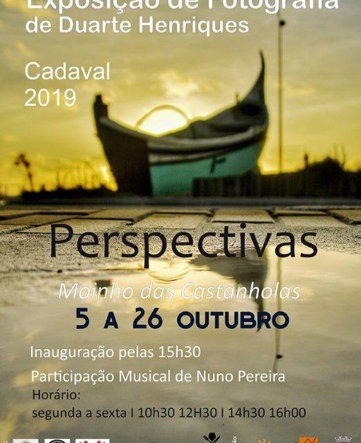 """Exposição   """"Perspectivas"""" de Duarte Henriques ao som das dedilhadas de Nuno Pereira, no Cadaval"""