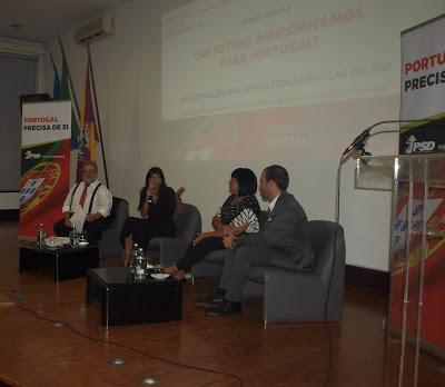 Polìtica  Sessão Pública – Sala cheia na apresentação das linhas programáticas do PSD em Cantanhede
