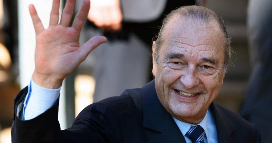 Mundo   Antigo Presidente francês Jacques Chirac morreu aos 86 anos
