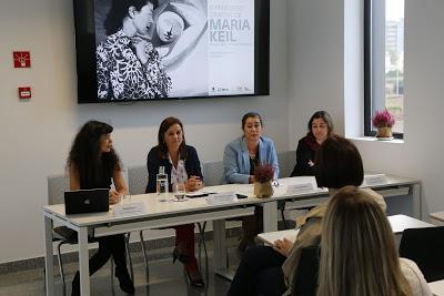 Barcelos   Comemoração dos 25 anos do IPCA com exposição de Maria Keil inaugurado pela Ministra da Cultura