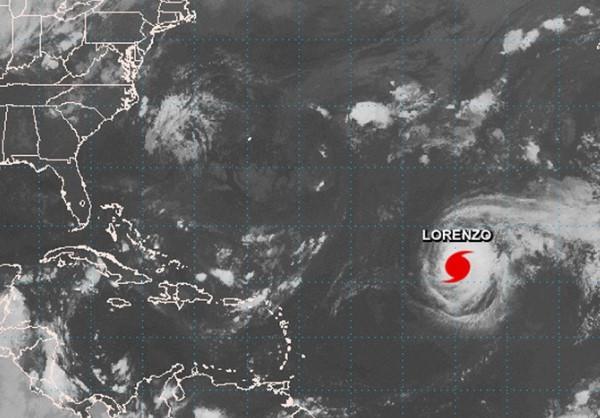 """A probabilidade de furacão Lorenzo atingir Açores é """"superior a 80%"""""""