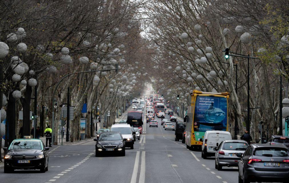 Av. Liberdade e Baixa-Chiado vão ter novas regras de trânsito