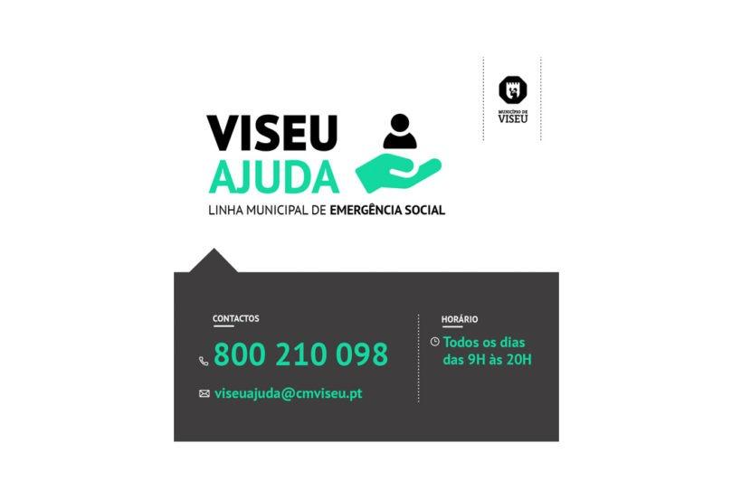 Linha municipal VISEU AJUDA apoiou 805 famílias do concelho, durante 100 dias