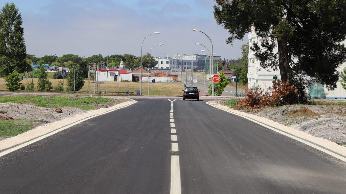 Marinha Grande | Câmara requalificou Rua da Soprem