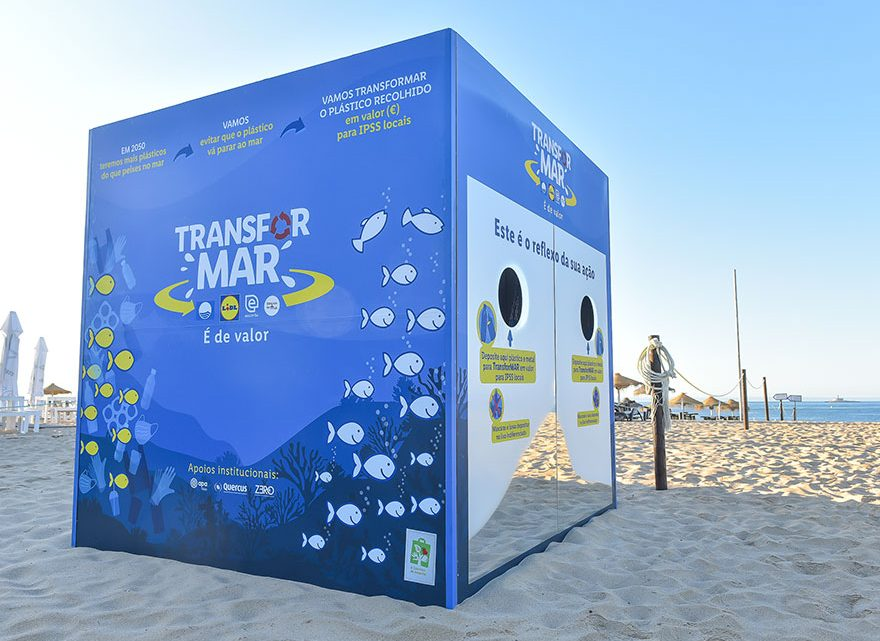 3ª edição do Projeto TransforMAR já chegou ao Algarve e vai transformar plástico em donativos para as IPSS locais