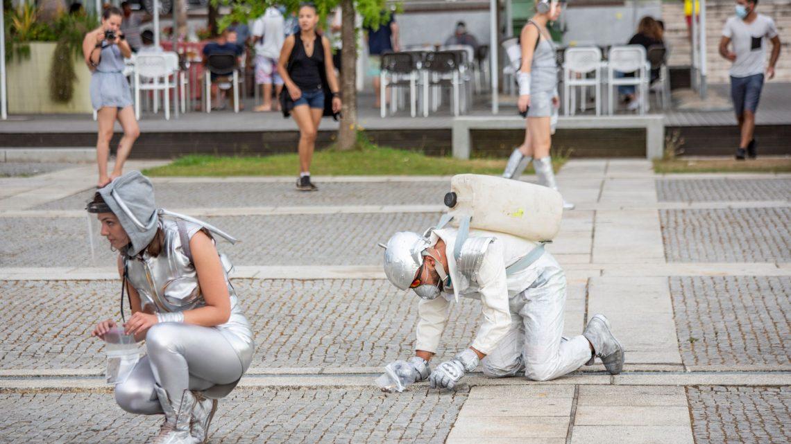 Arte de rua e instalações artísticas animam Águeda no fim de semana
