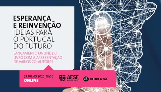 Esperança e Reinvenção entra nos tops de vendas e será apresentado na AESE Business School, em Lisboa