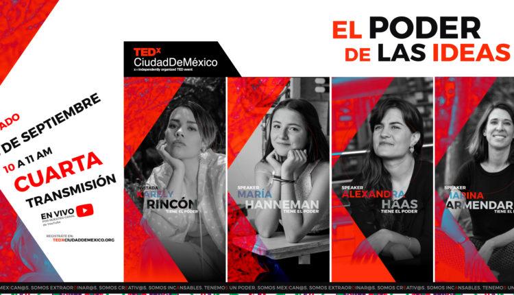 México | TEDxCiudadDeMéxico 1° Edición, Llega A Su Fin Con Un Cartel Totalmente Femenino