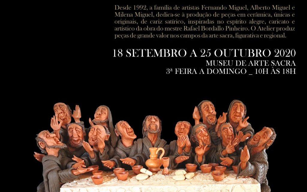 Covilhã | CERÂMICA ARTÍSTICA EM EXPOSIÇÃO NO MUSEU DE ARTE SACRA