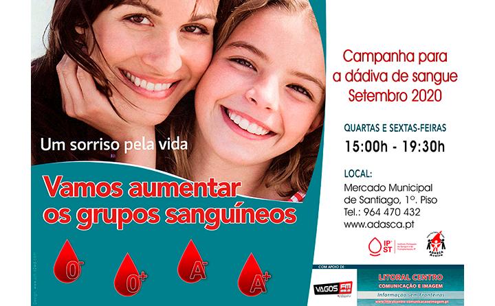 Necessidade de dadores dos grupos sanguíneo O- e A- (negativos) e O+ e A+ (positivos)