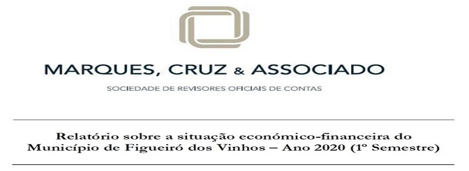Relatório do Revisor Oficial de Contas 1º semestre 2020 – Câmara de Figueiró dos Vinhos