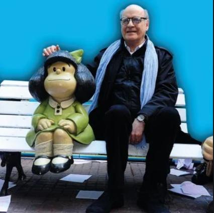 Morreu Quino, o criador de Mafalda