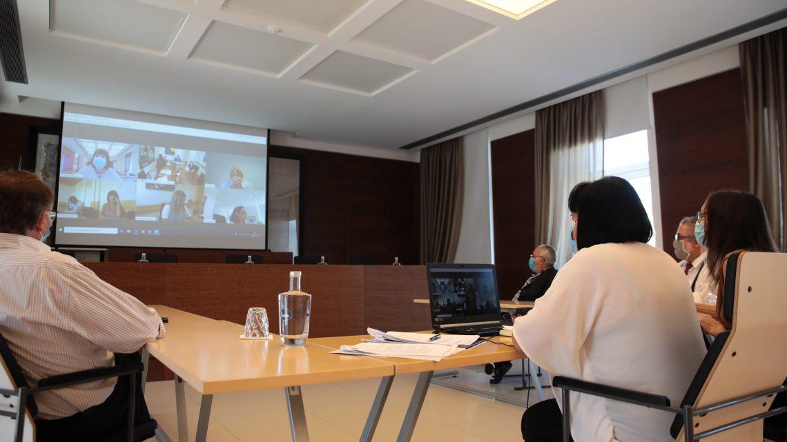 Helena Teodósio debateu com a ministra Marta Temido a situação da saúde em Cantanhede