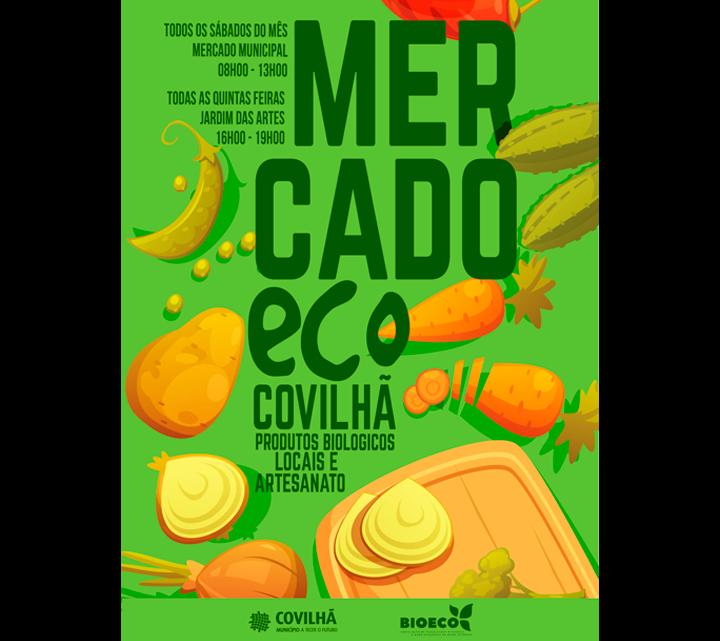 Covilhã | JARDIM DAS ARTES RECEBE MERCADO ECO ÀS QUINTAS FEIRAS