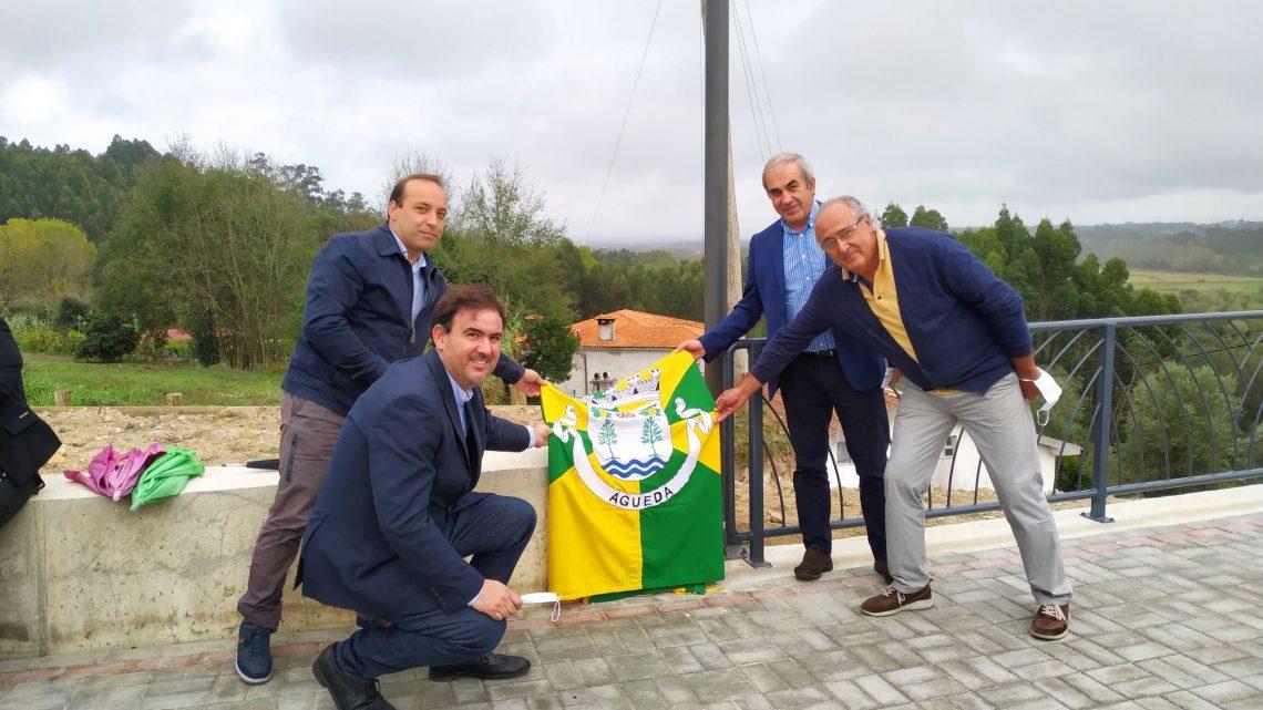Águeda | Largo do Cruzeiro de Paradela requalificado e criado miradouro sobre o Vale do Cértima