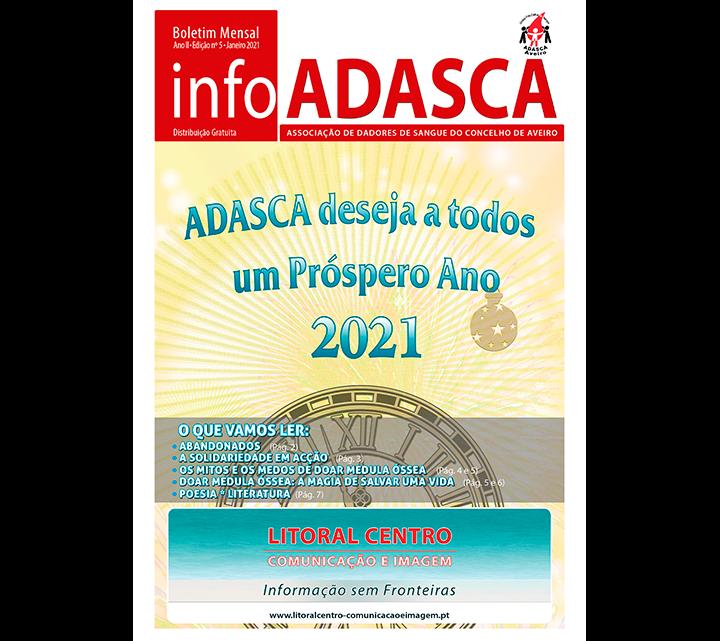 BOLETIM INFOADASCA, EDIÇÃO Nº. 5 DE JANEIRO DE 2021