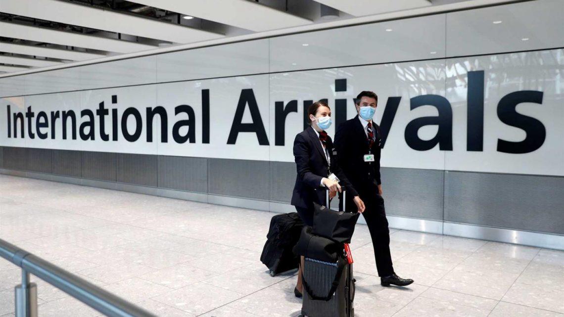Portugal suspende voos com o Reino Unido a partir de sábado
