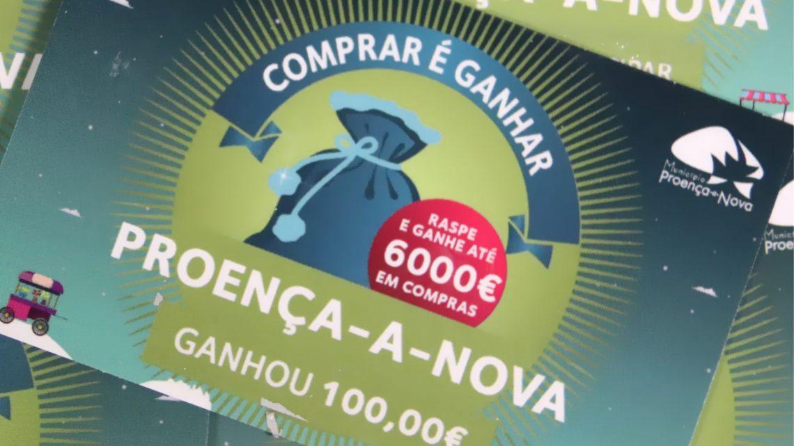 Proença-a-Nova | 46 lojas atribuíram 5.230 € em prémios no concurso Comprar é Ganhar