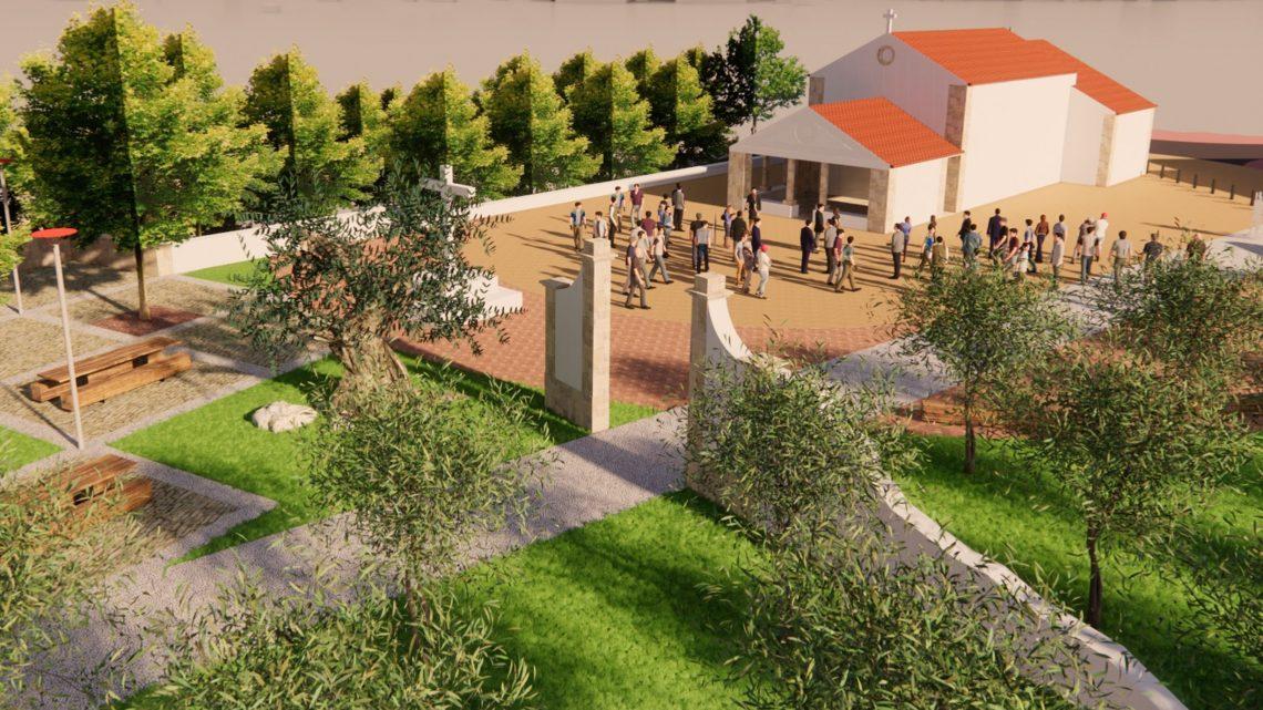 Cantanhede | Qualificação urbanística da envolvente à capela de S. Bento já começou