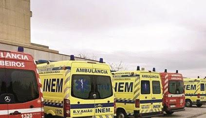 Liga de Bombeiros denuncia que há doentes horas retidos em ambulâncias e que já houve uma morte