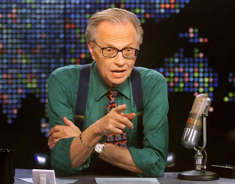 Morreu Larry King com Covid-19