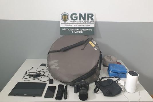 Detido em flagrante por furto em residências na Gafanha