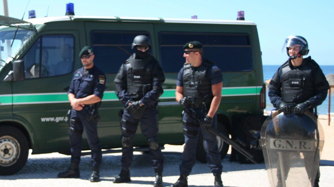 GNR deteve 291 pessoas em uma semana