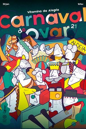 Carnaval de Ovar 2021 é em casa