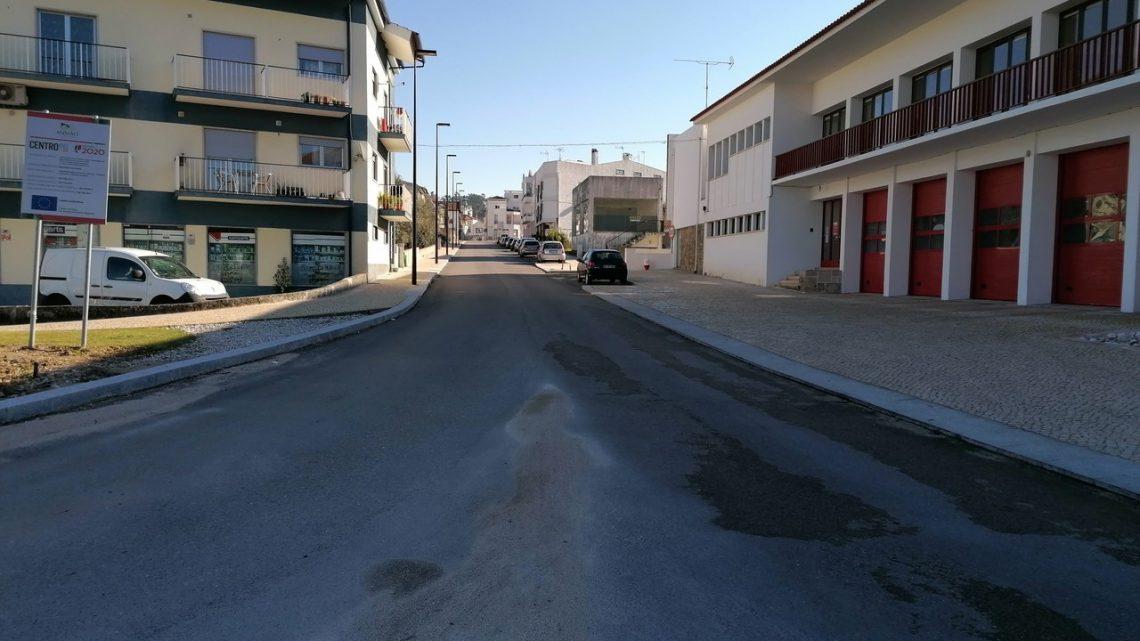 Ansião   Obras de regeneração urbana de Ansião em fase de conclusão