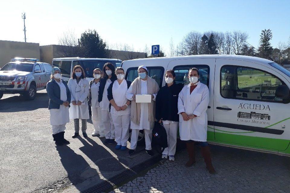 Águeda   Vacinação nos lares do concelho de Águeda iniciou hoje