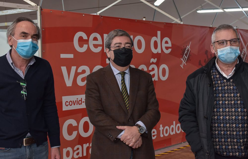 CENTRO DE VACINAÇÃO COVID-19 DA COVILHÃ JÁ ESTÁ ATIVO