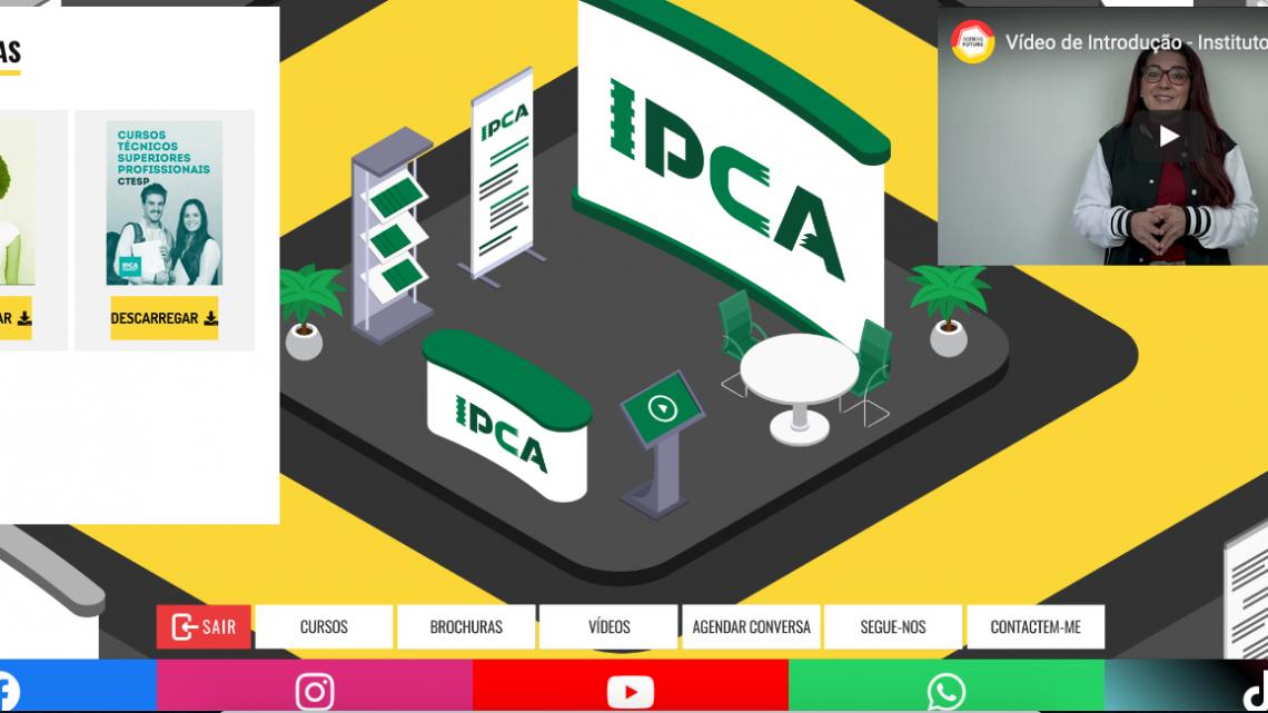 Barcelos | IPCA de portas abertas às Escolas em formato online