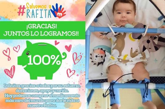 Crowdfunding de 2 milhões salva bebé com doença rara