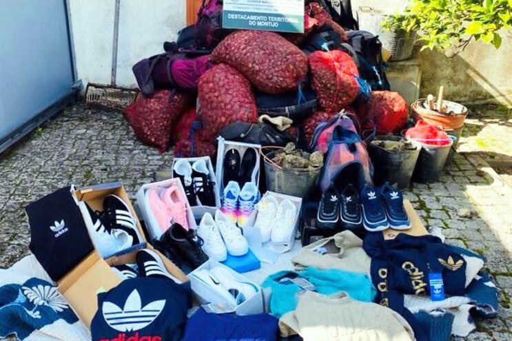 GNR apreende toneladas de bivalves e artigos contrafeitos no sul do país