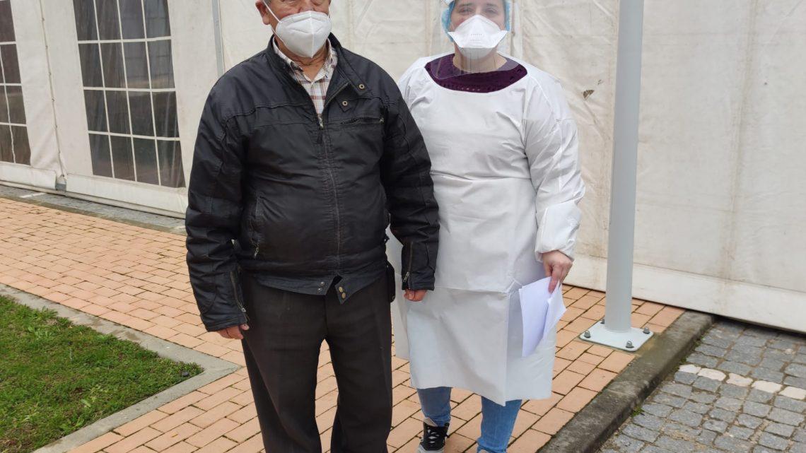 Vacinação comunitária para a Covid-19 arrancou hoje em Alvaiázere