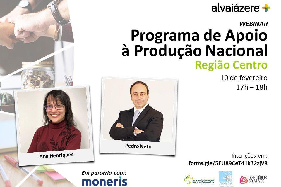 Alvaiazerense | Programa de Apoio à Produção Nacional – Região Centro