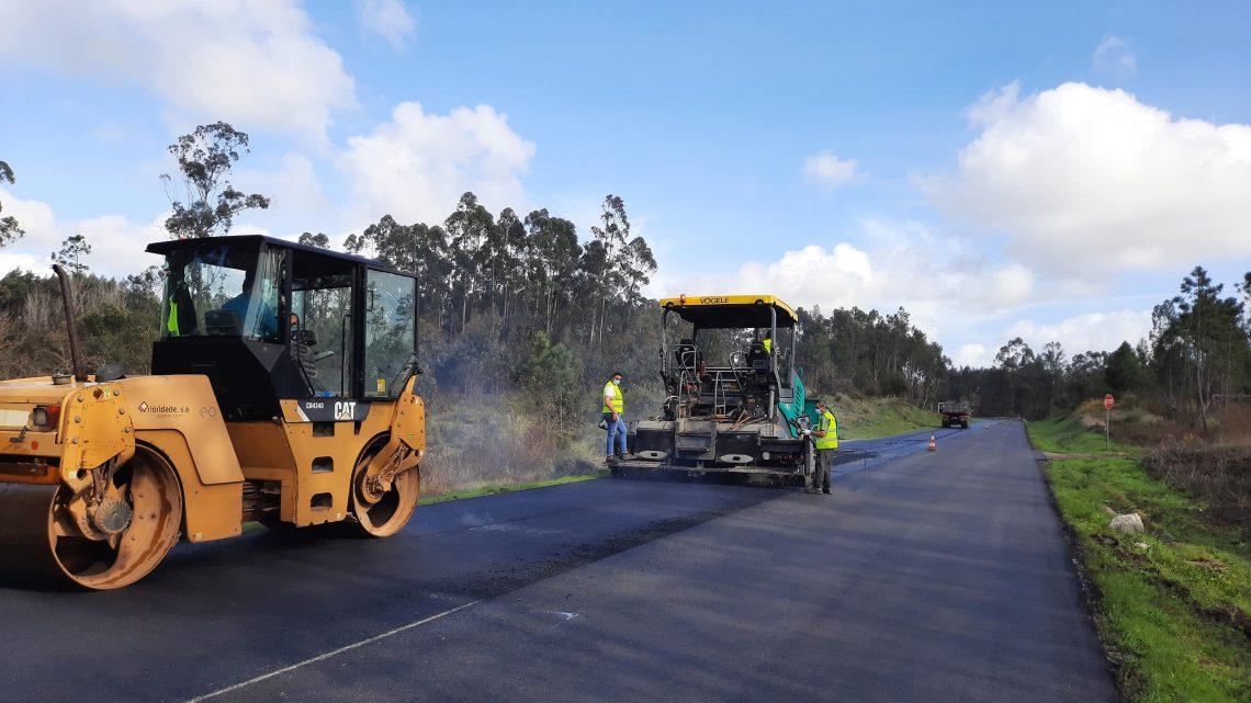 Cantanhede | EN334 em Covões e Camarneira já tem novo pavimento