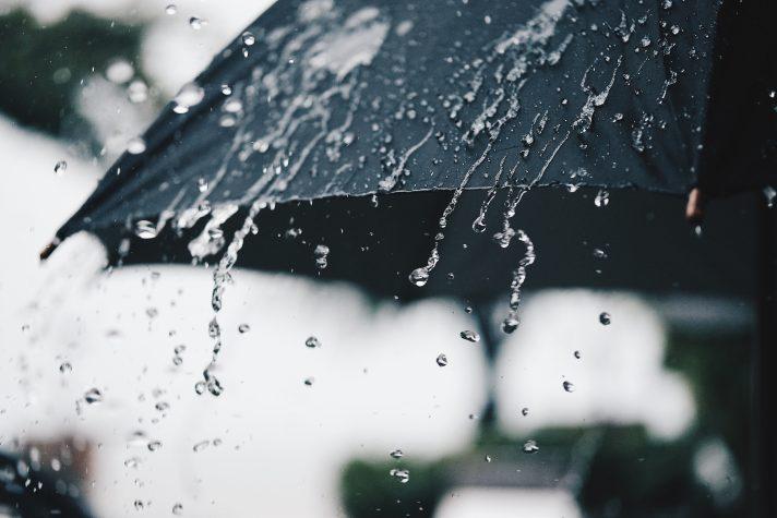 Oito distritos sob aviso laranja devido à chuva forte e agitação marítima