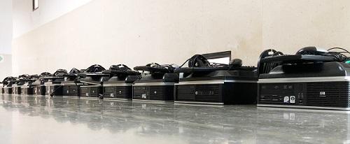 Câmara disponibiliza computadores ao Agrupamento de Escolas de Anadia