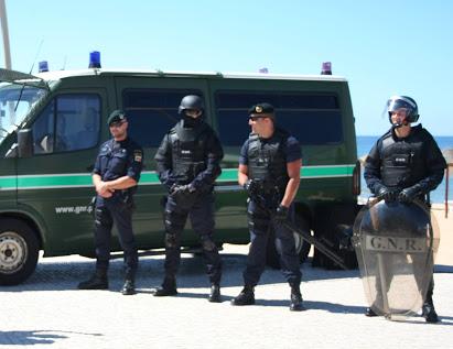Atividade operacional semanal da GNR de Coimbra