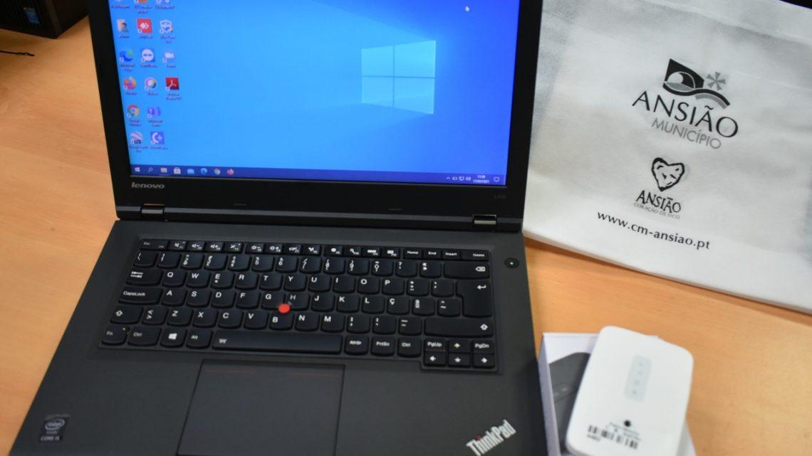 Ansião | Autarquia disponibilizou recursos informáticos para ensino a distância