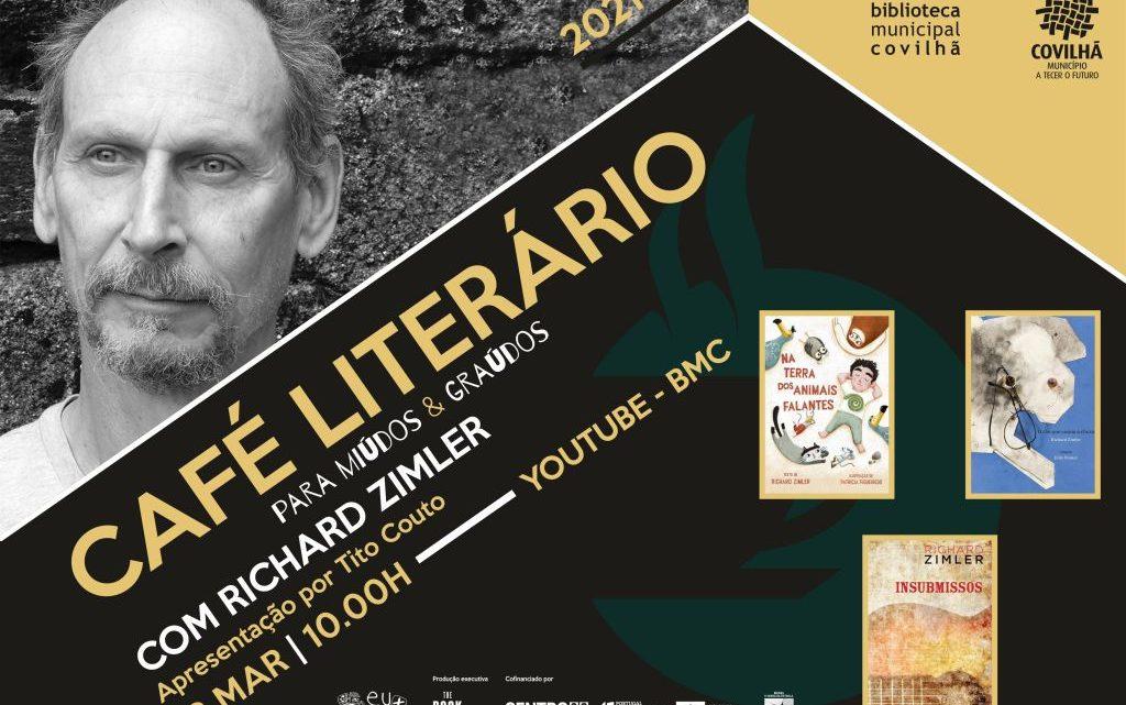 RICHARD ZIMLER NO CAFÉ LITERÁRIO DA COVILHÃ