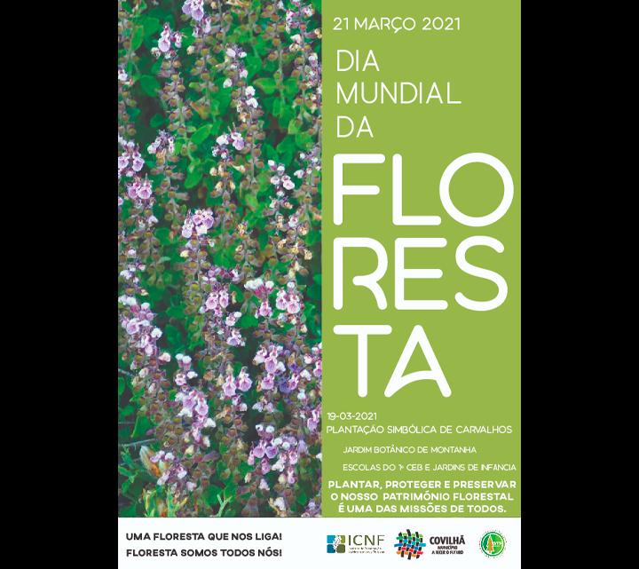 MUNICÍPIO DA COVILHÃ CELEBRA DIA MUNDIAL DA FLORESTA